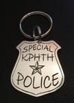 Schlüsselanhänger Police